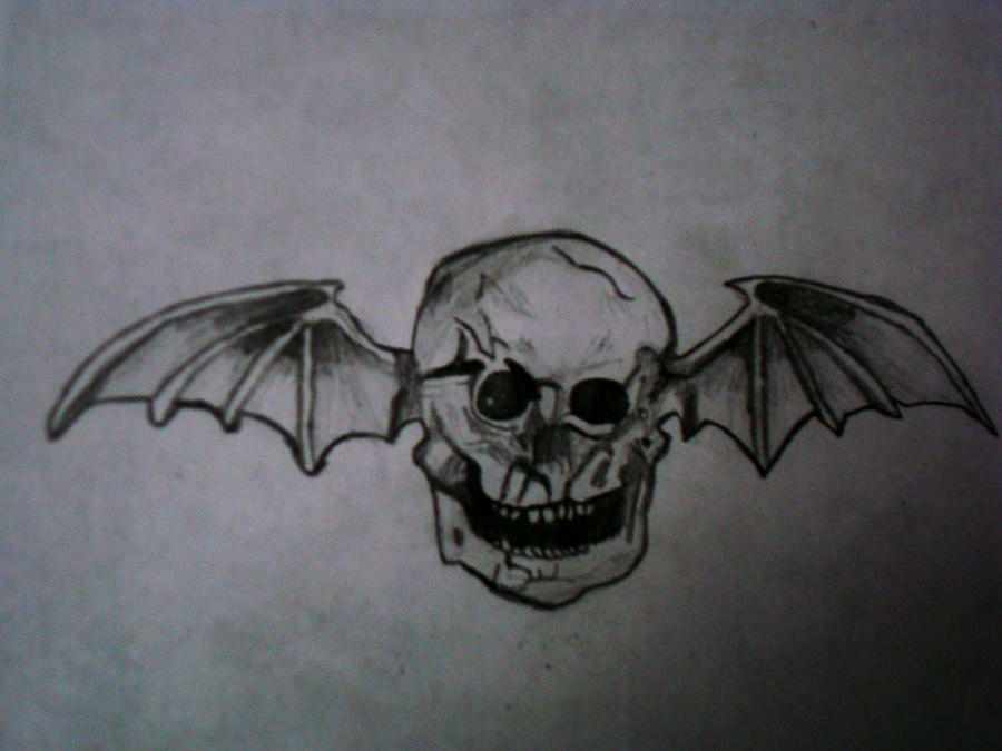 Avenged sevenfold logo drawing by hakaiisha