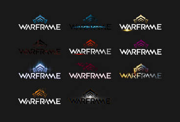 WARFRAME all logotype