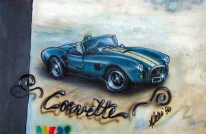Vintage Corvette by ShyloLove