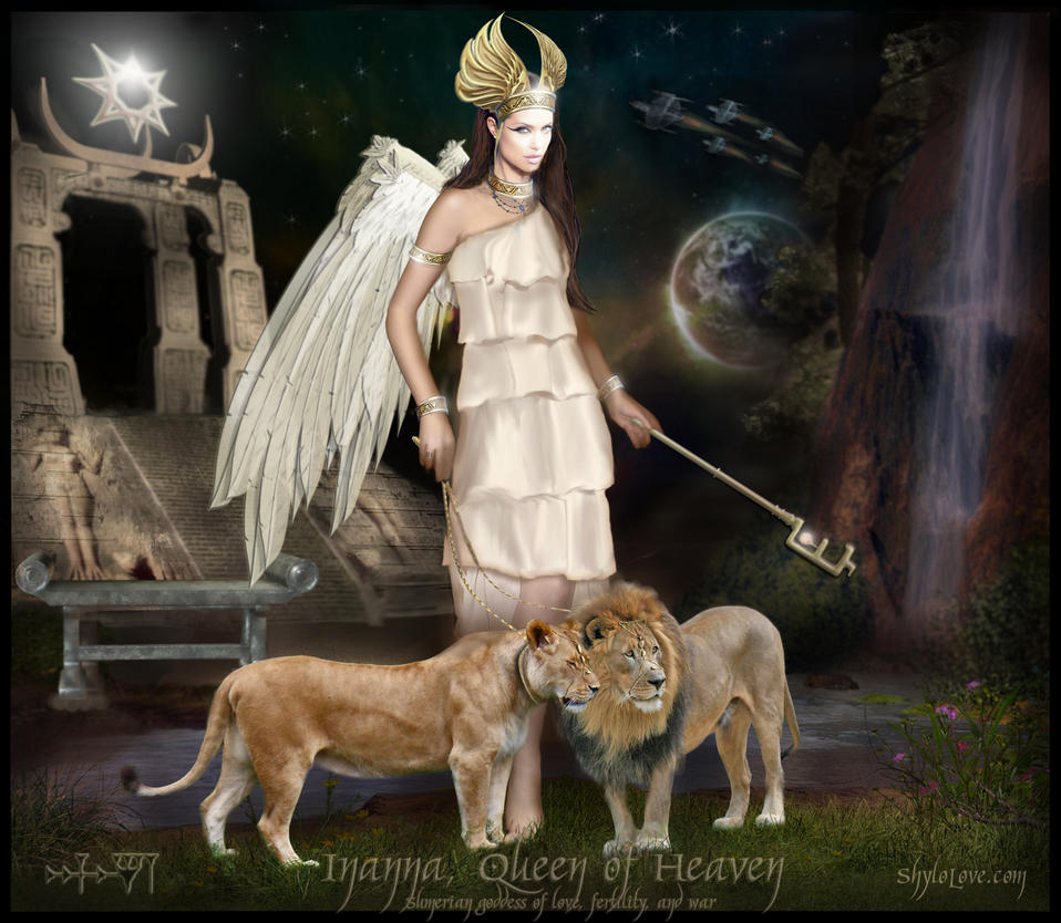 Inanna - Queen of Heaven by ShyloLove