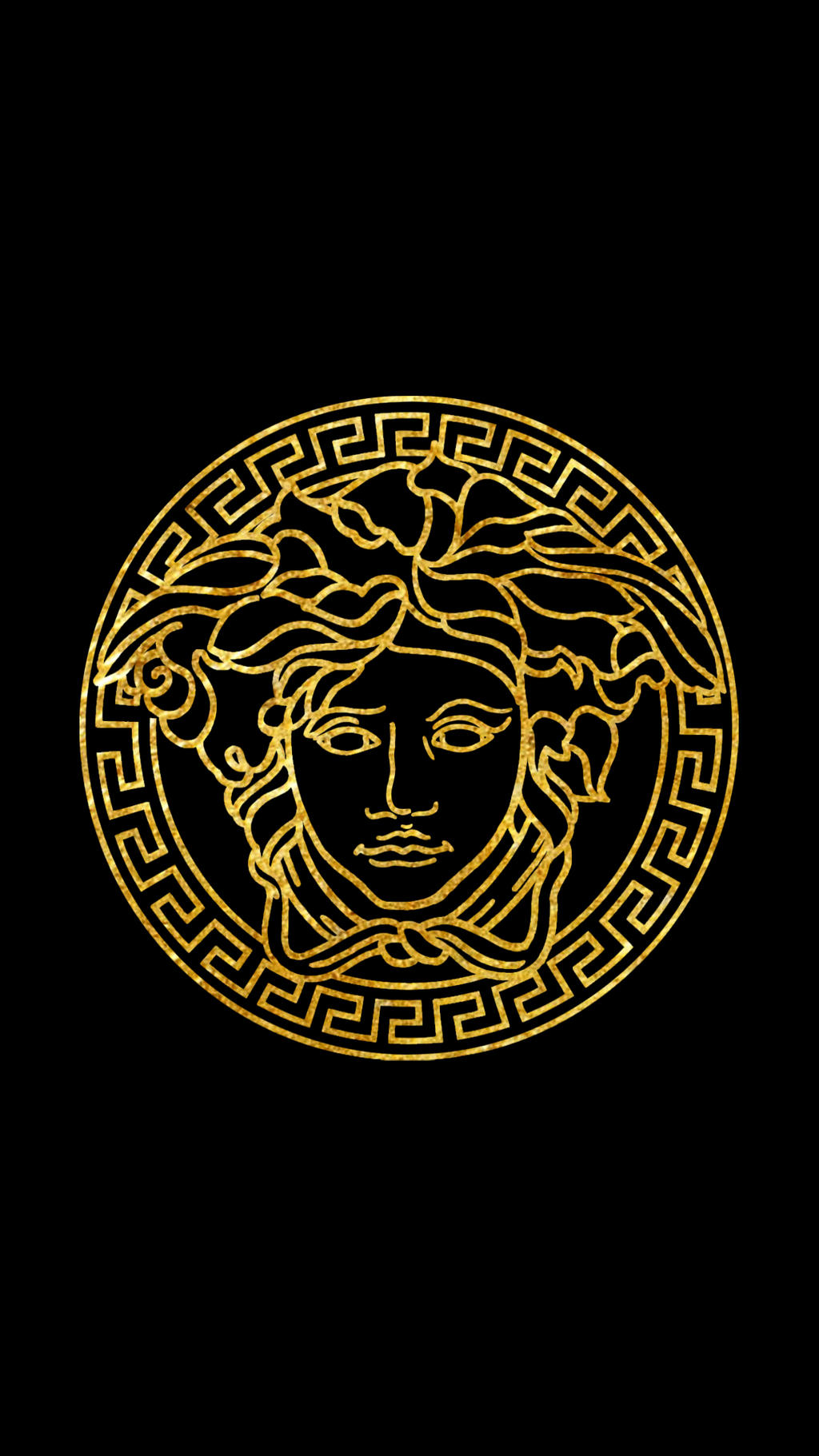 Versace Logo (Black) 1080x by tdotwallpapers on DeviantArt