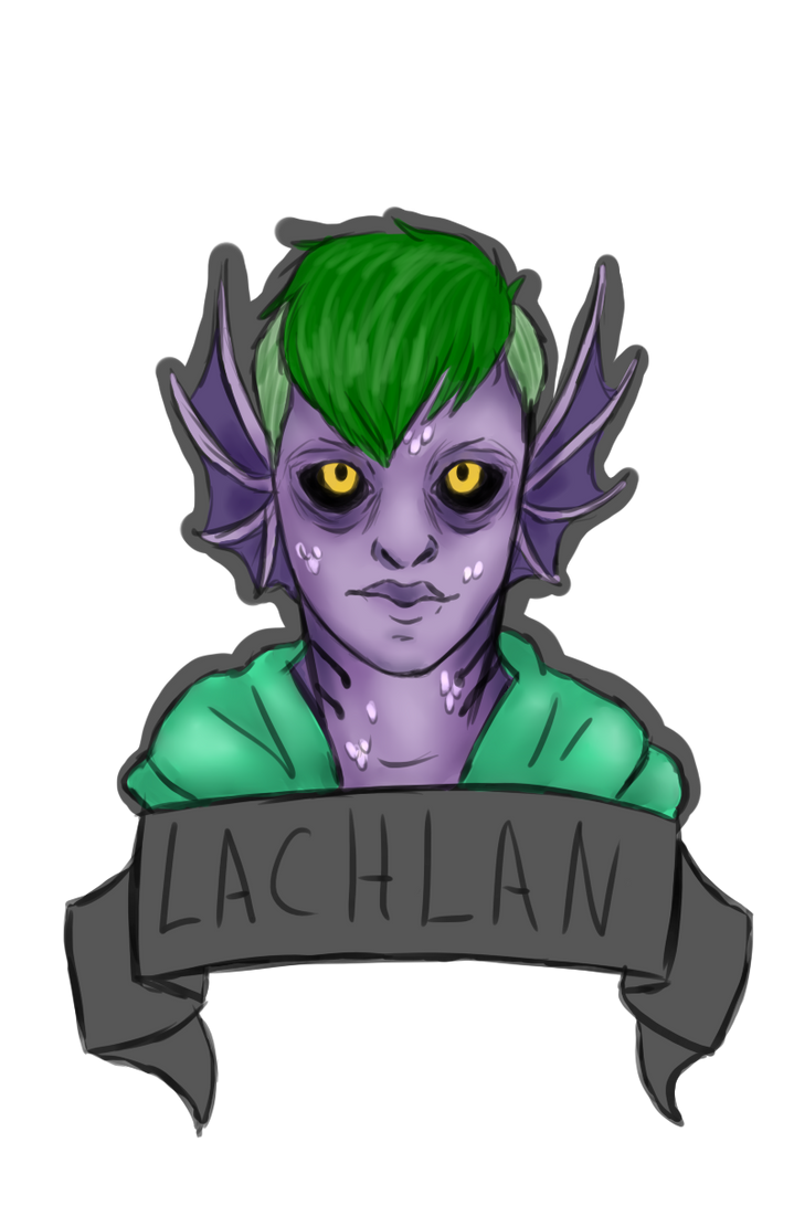 Lachlan Bust by Qu-Ross