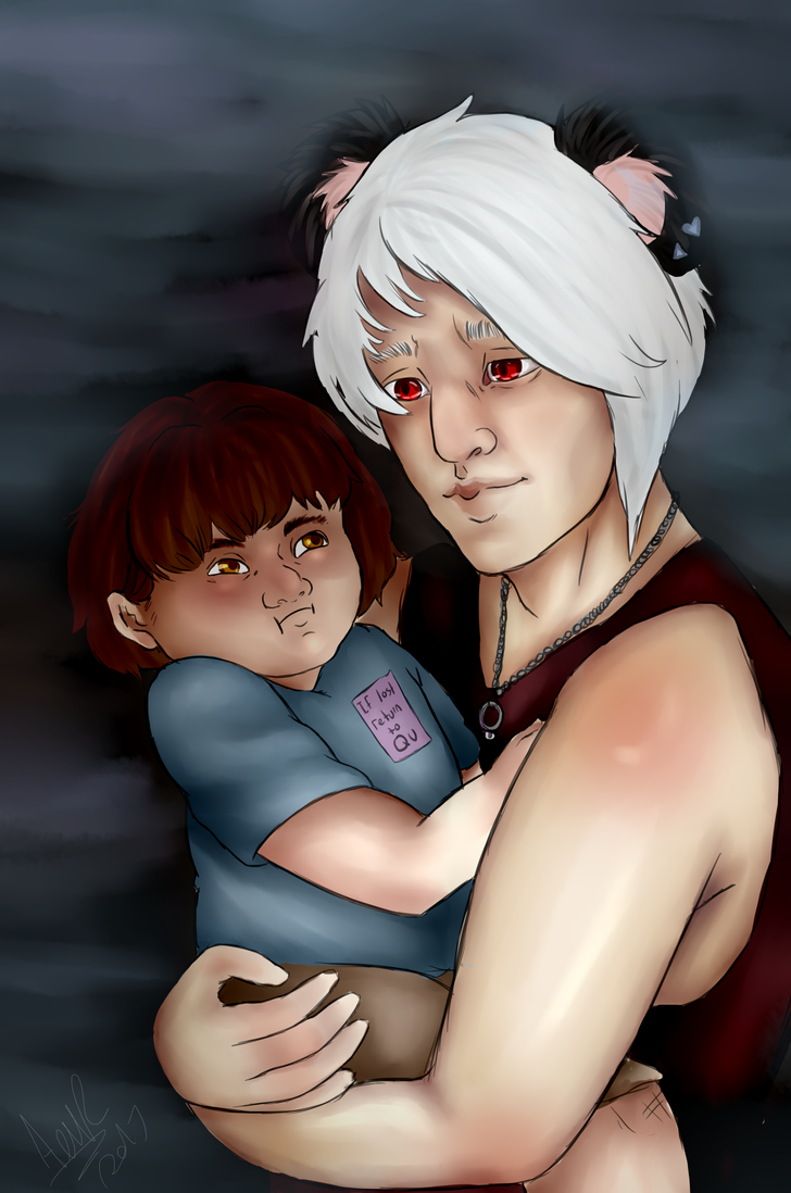 Qu and little ross by Qu-Ross