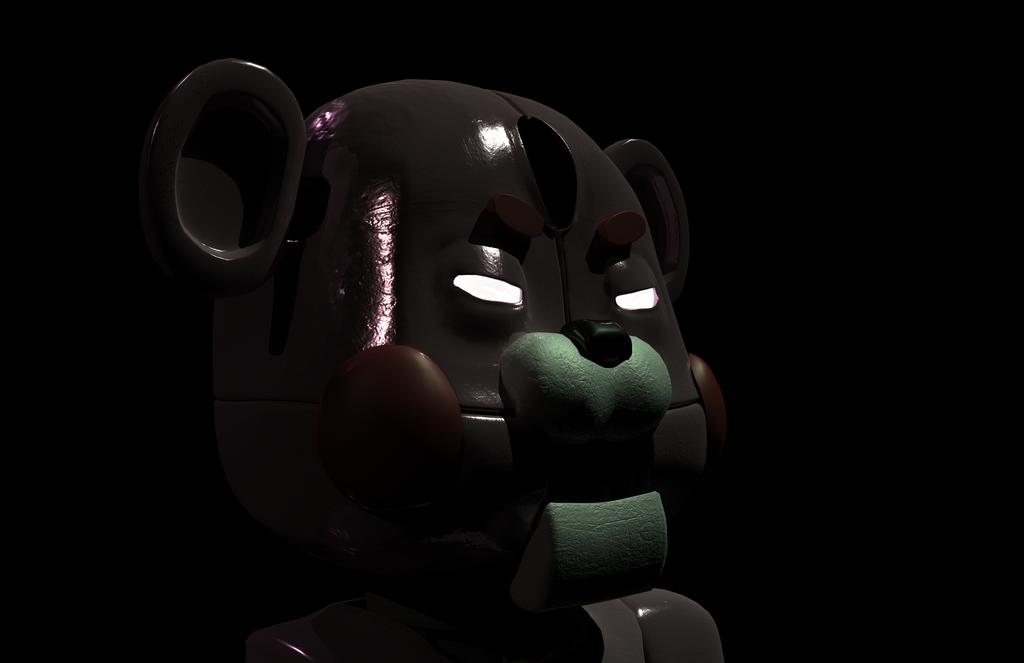 Panboo ~ FNAF fan character by Qu-Ross