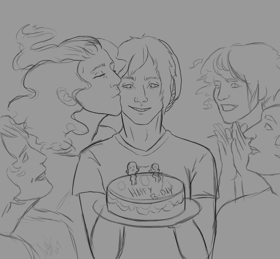 26th birthday by Qu-Ross
