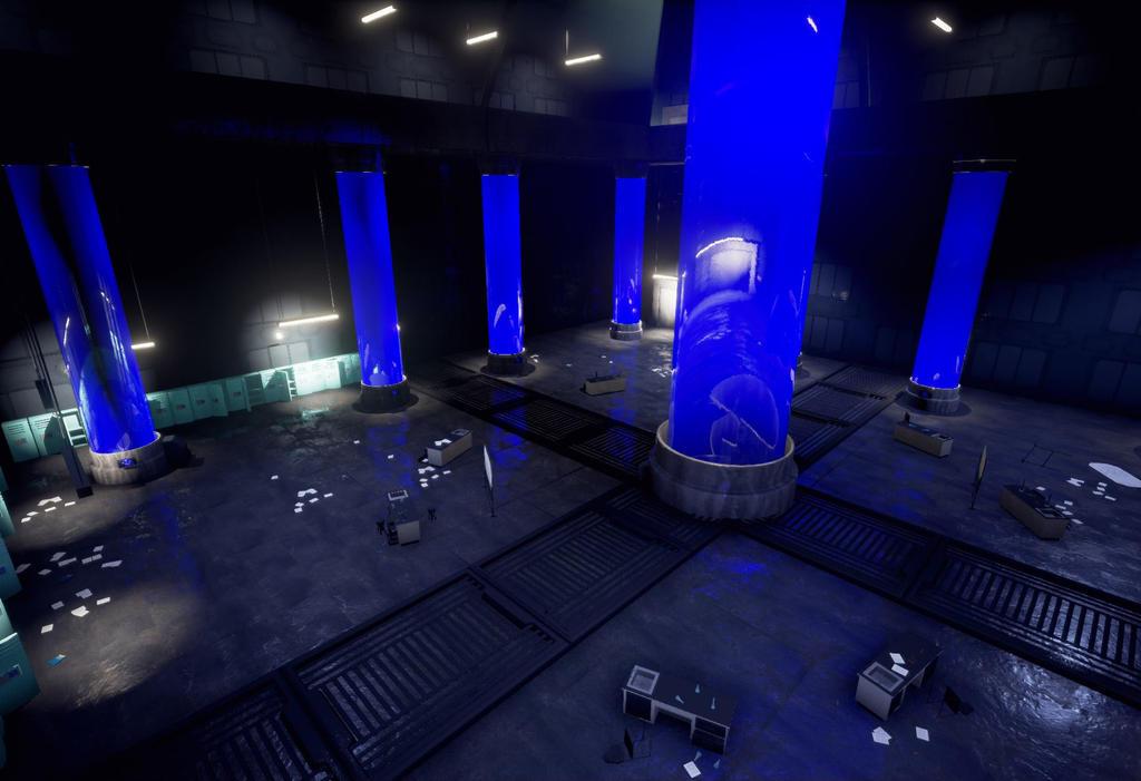 Aross shooter game environment shot 03 by Qu-Ross