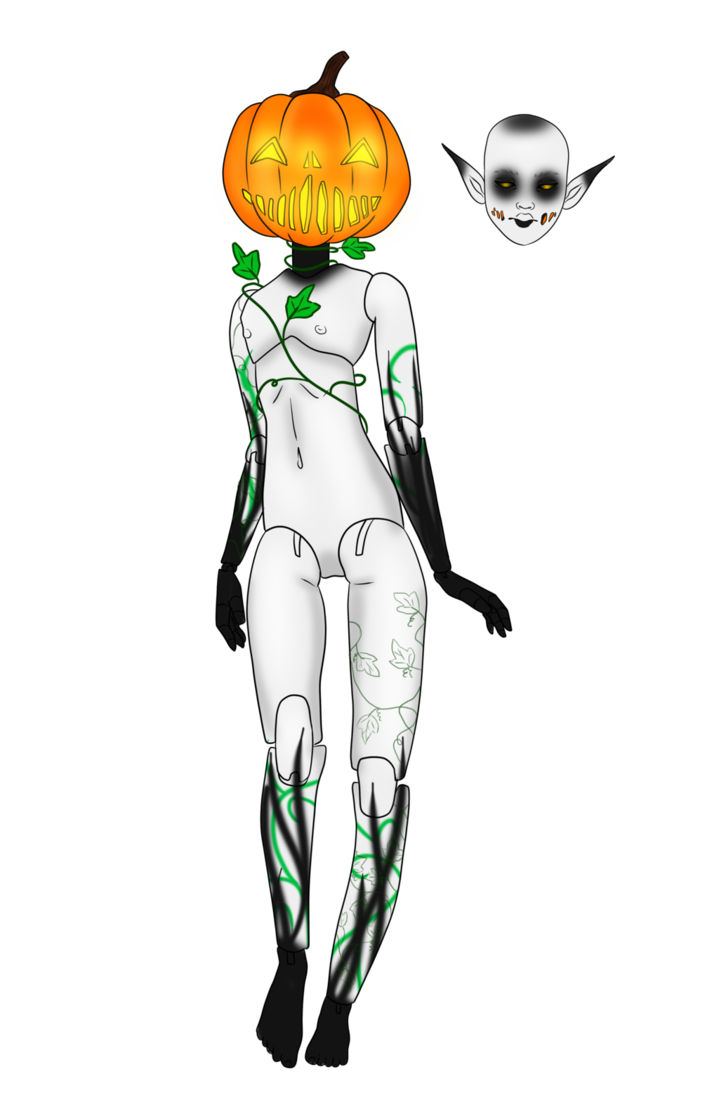 Halloween Event Day 5: Pumpkin Doll {closed} by Qu-Ross
