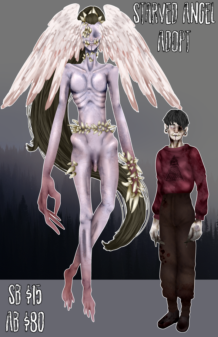 [CLOSED] Starved Angel by Qu-Ross