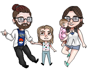 Chris family pixel by Qu-Ross