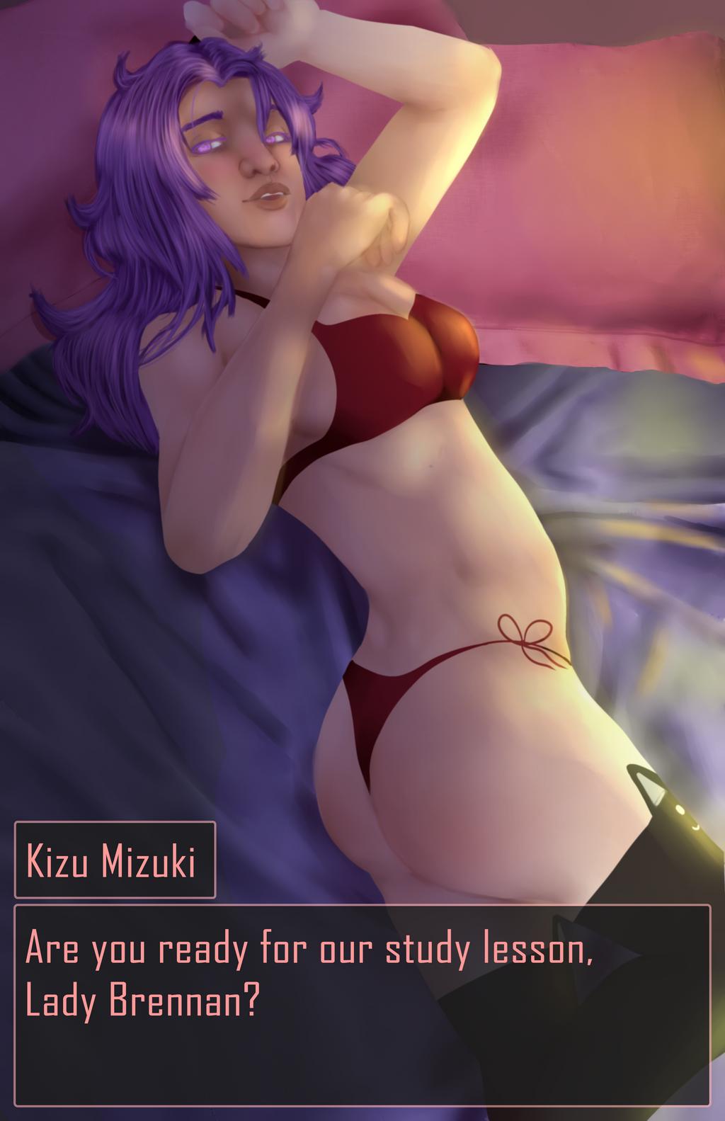 Dating Sim Valentines Kizu Mizuki by Qu-Ross