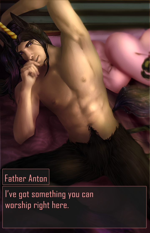 Dating Sim Valentines Anton by Qu-Ross
