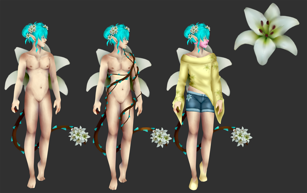 Lily Ref by Qu-Ross