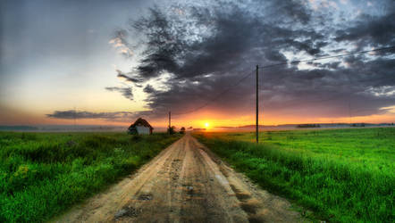 Sunrise hdr by Relamz