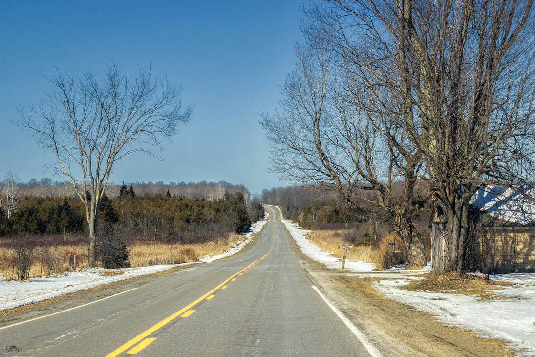 Country Road in Eastern Ontario 2 by Nini1965