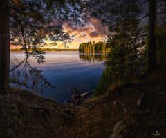 Early Morning at Silver Lake, Tay Valley