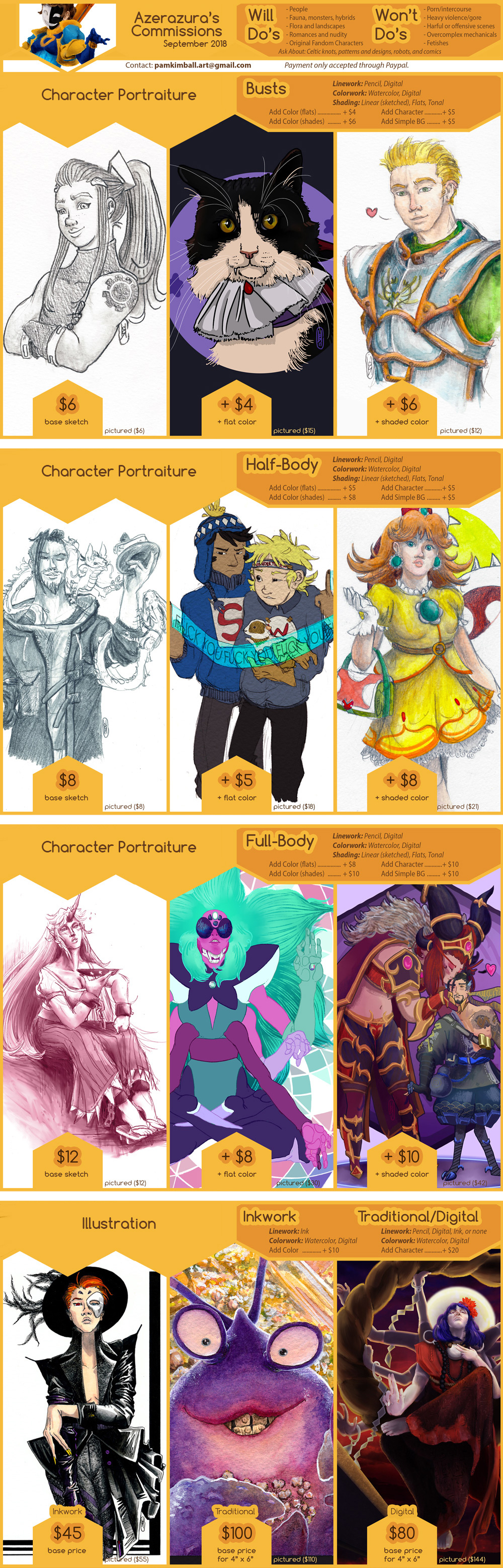 2018 Commissions [CLOSED]