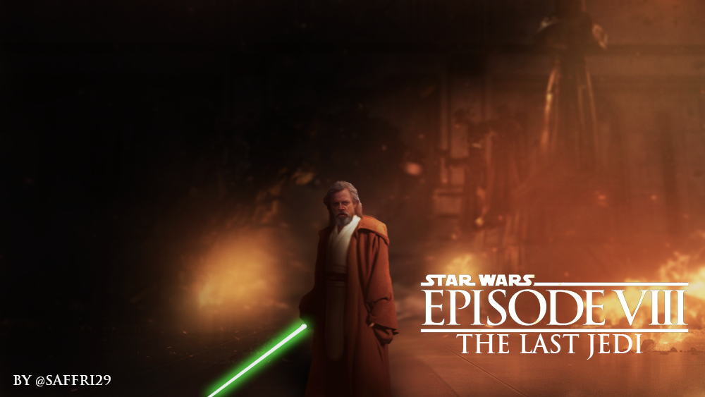 Star Wars Episode 8 The Last Jedi Luke Skywalker By Saffri1 On Deviantart