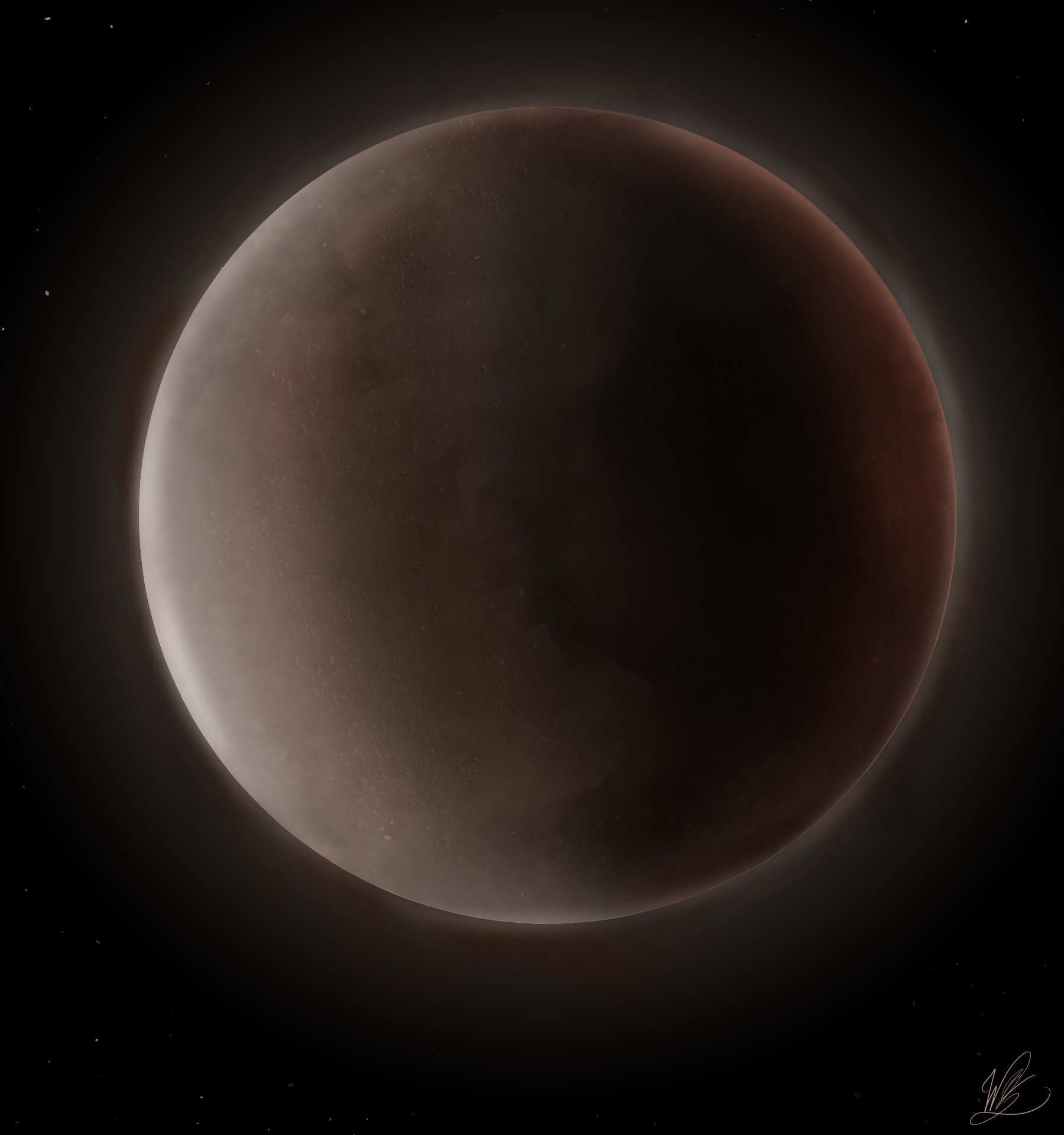 A Mysterious Planet