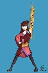 Matsuri - Character #1 by Windvern