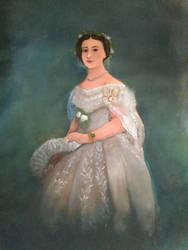 Victoria, Princess Royal (re-upload) by RoyalArtist91