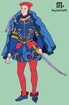 Zodiac costume Libra man