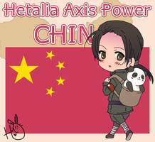 Hetalia Axis Power China by leadervance