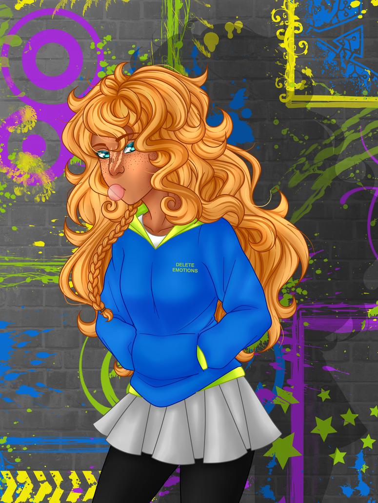 Apollo genderbend by Marianachii