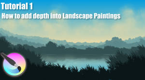 Krita-How to add depth into Landscape Paintings