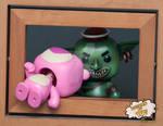 Funko Pop Custom -- Lotso's Nightmare Part 2