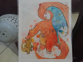 Charizard and Charmander