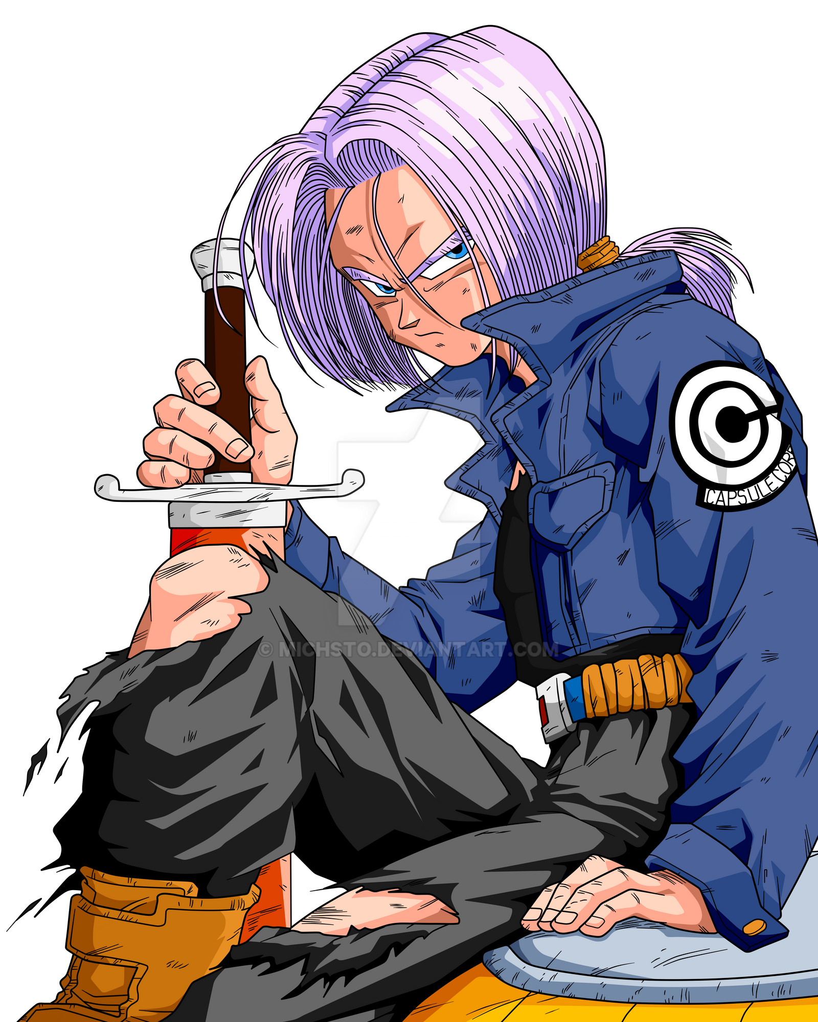 Future Trunks By Michsto On DeviantArt