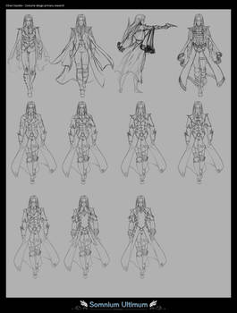 Ethan Vassilev costume design research