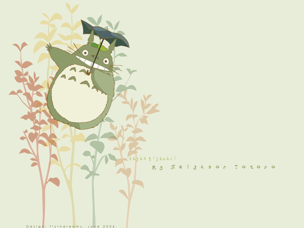 Totoro by littlemeow