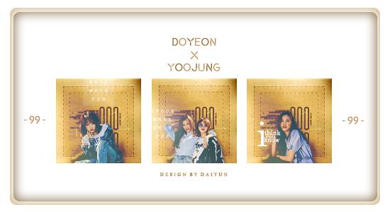 170506 Doyeon Yoojung by az84417