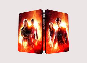 Doctor Who: The Day of the Doctor Steelbook by FinlayHS
