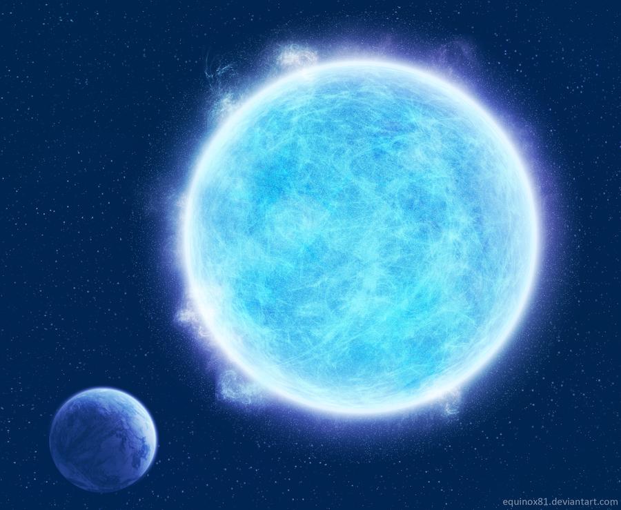 blue giant planet - photo #19