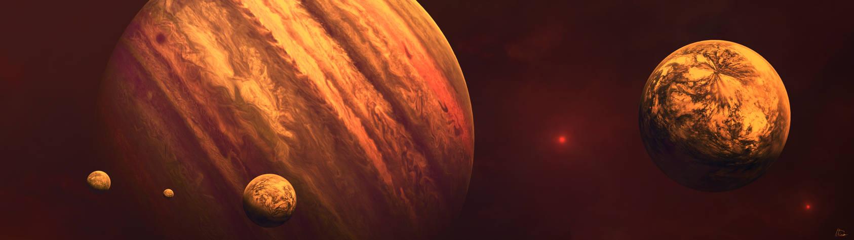 Jovian Moons