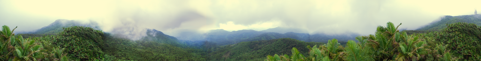 El Yunque Panorama by CompassLogic