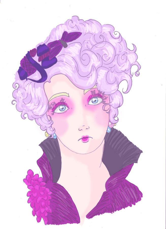 Effie Trinket by scylla451