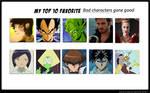 My Top Ten Bad Guys Gone Good Meme