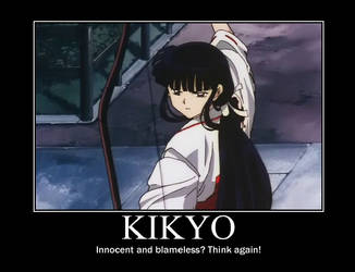 Kikyo Demotivational by TheRisenChaos