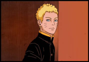 Boruto 4 - Naruto and Boruto by theothersophie