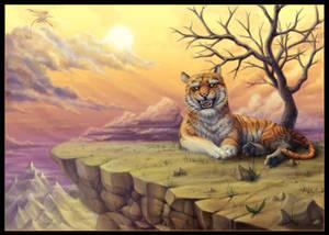 Commission: Tigerfluff