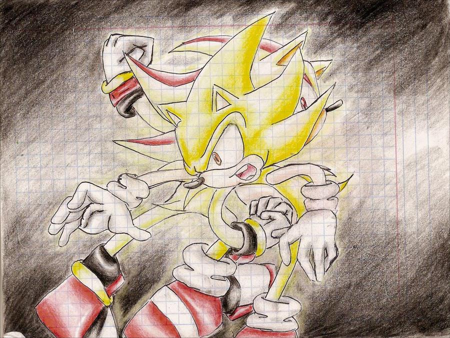 Super Shadow vs. Super Sonic by RaquellovesShadow225 on ...