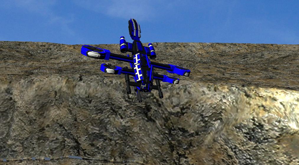 dragonfly gunship by starkeron