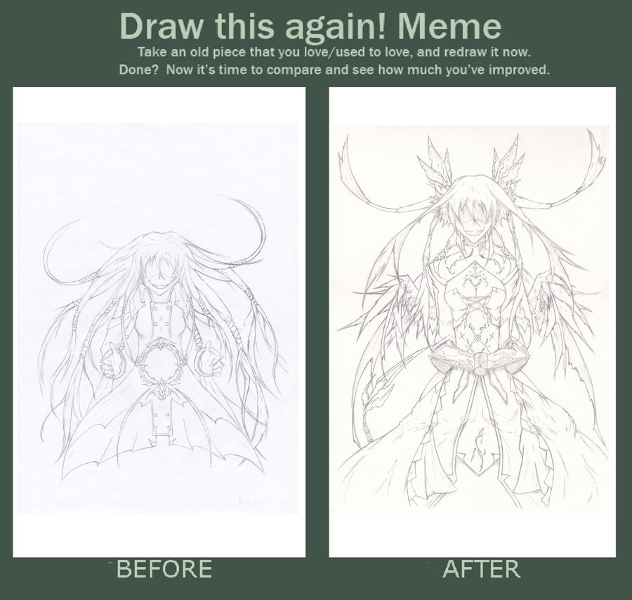 Meme: Draw this again by Artep89