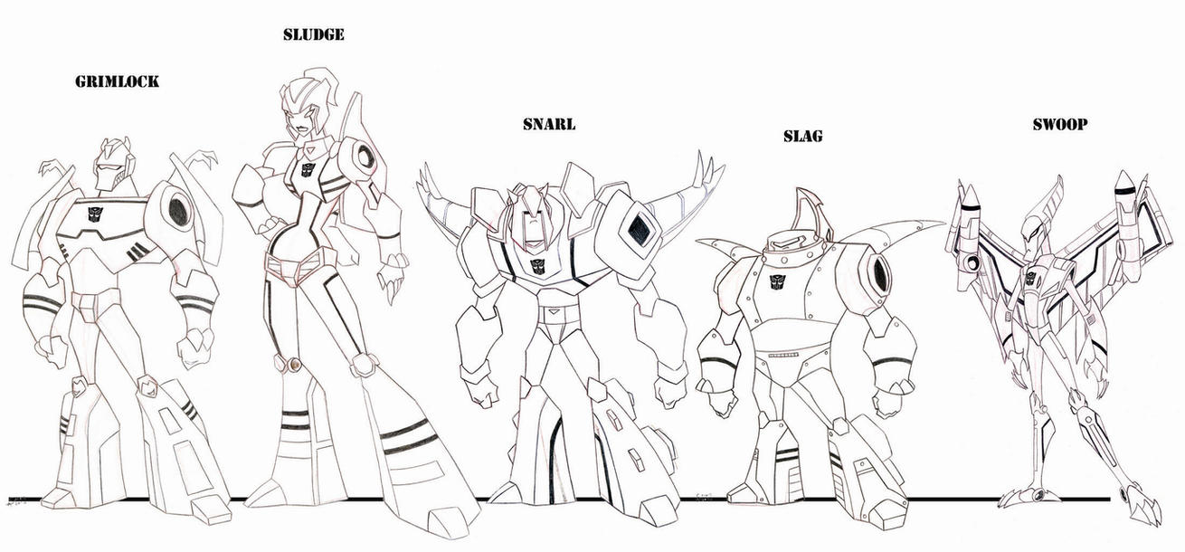 Dinobots Coloring Pages Coloring Pages