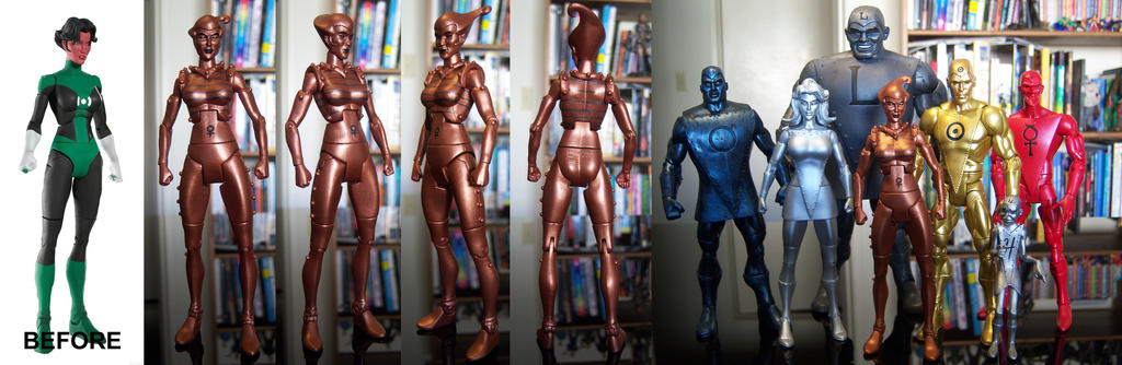 Metal Men: Copper by wardog-zero