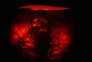 Pumpkin 2013 - Han in Carbonite by Bactaboy