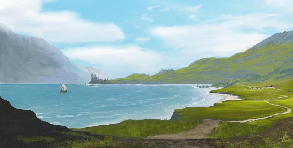 Coast by Bactaboy